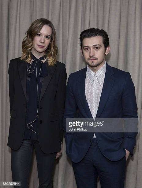 Chloe Pirrie and Craig Roberts attend the nominations announcement for The London Critics' Circle Film Awards at The Mayfair Hotel on December 20...