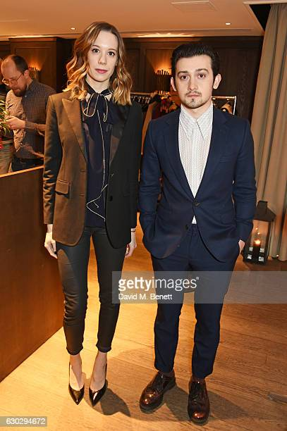 Chloe Pirrie and Craig Roberts attend the nominations announcement for The London Critics' Circle Film Awards at The May Fair Hotel on December 20...