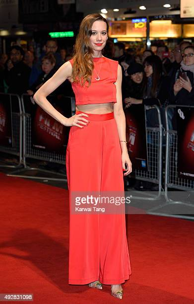 Chloe Pirrie attends a screening of 'Burn Burn Burn' during the BFI London Film Festival at Vue West End on October 15 2015 in London England