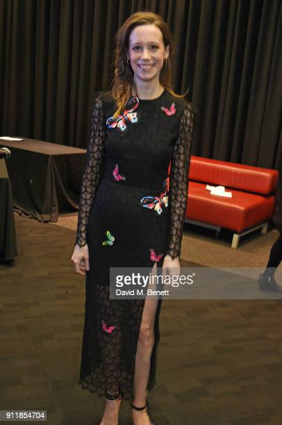 Chloe Pirrie attends an exclusive preview screening of new BBC One drama Troy Fall Of A City at BFI Southbank on January 29 2018 in London England