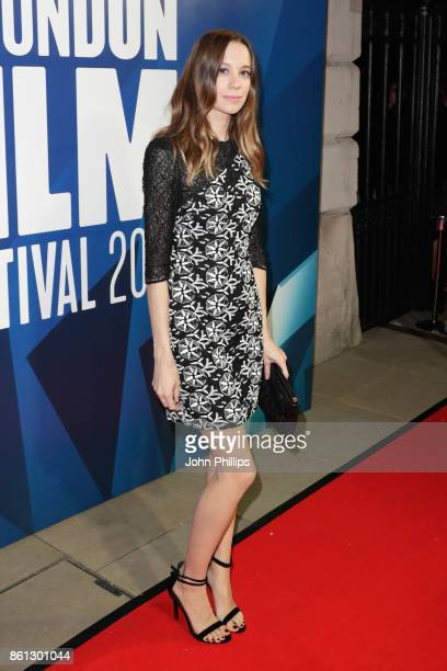 Chloe Pirrie attends the 61st BFI London Film Festival Awards on October 14 2017 in London England