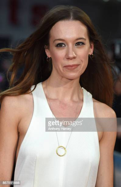 Chloe Pirrie attends the European Premiere of 'Breathe' on the opening night gala of the 61st BFI London Film Festival on October 4 2017 in London...
