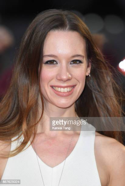 Chloe Pirrie attends the European Premiere of Breathe on the opening night Gala of the 61st BFI London Film Festival at the Odeon Leicester Square on...