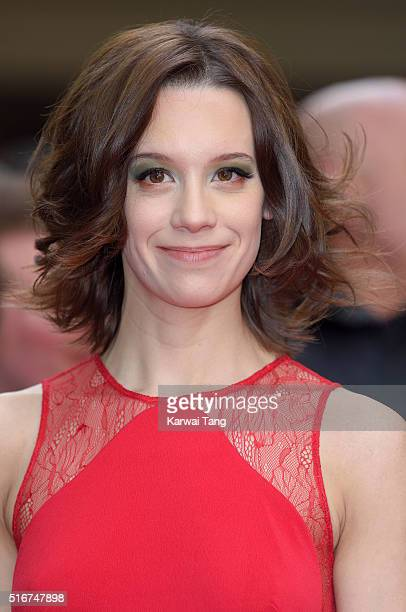 Chloe Pirrie attends the Jameson Empire Awards 2016 at The Grosvenor House Hotel on March 20 2016 in London England