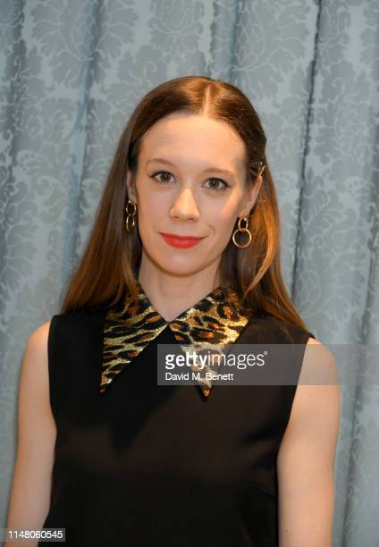 Chloe Pirrie attends the Miu Miu Select by Georgia May Jagger event on May 09 2019 in London England
