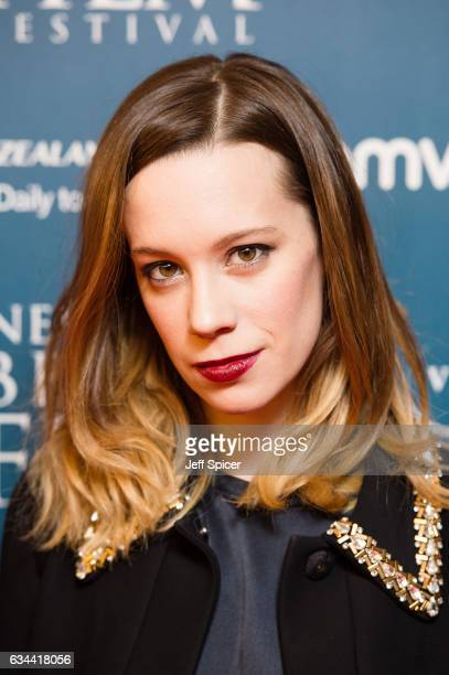 Chloe Pirrie attends the Newport Beach Film Festival Honours at Bulgari Hotel on February 9 2017 in London United Kingdom