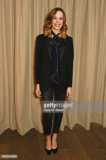 Chloe Pirrie attends the nominations announcement for The London Critics' Circle Film Awards at The May Fair Hotel on December 20 2016 in London...