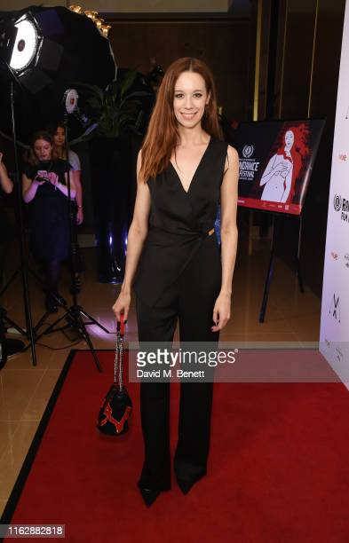 Chloe Pirrie attends the Raindance Film Festival's Special Soiree at The May Fair Hotel on August 20 2019 in London England