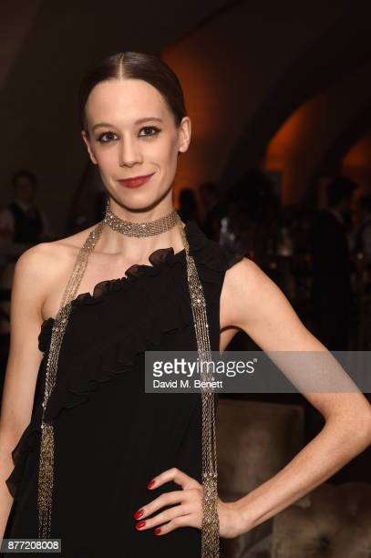 Chloe Pirrie attends the World Premiere after party for season 2 of Netflix 'The Crown' at Somerset House on November 21 2017 in London England