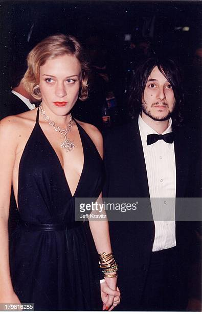 Chloe Sevigny and Harmony Korine during The 72nd Annual Academy Awards Vanity Fair Party at Morton's in Los Angeles California United States