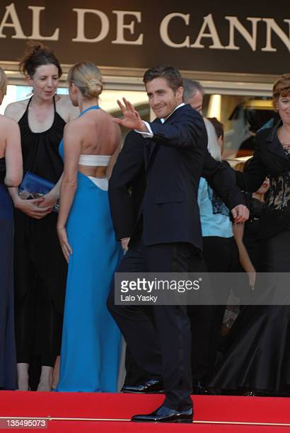 Chloe Sevigny and Jake Gyllenhaal during 2007 Cannes Film Festival Zodiac Premiere at Palais de Festival in Cannes France