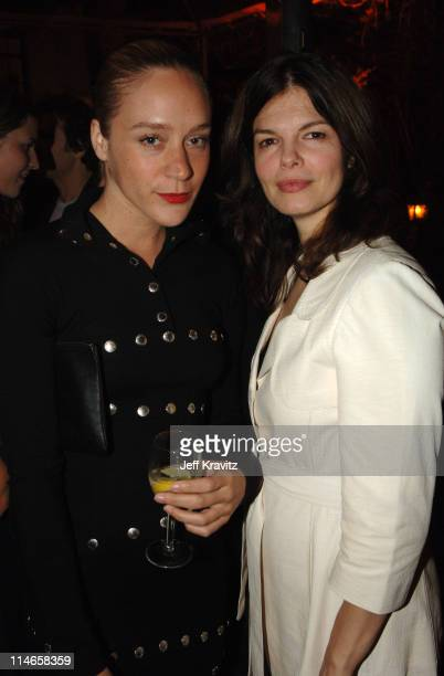 Chloe Sevigny and Jeanne Tripplehorn during HBO's Annual Pre-Golden Globes Private Reception at Chateau Marmont in Los Angeles, California, United...