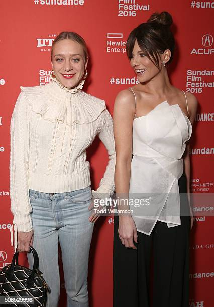 Chloe Sevigny and Kate Beckinsale attend the 'Love Friendship' Sundance Premiere at Eccles Center Theatre on January 23 2016 in Park City Utah