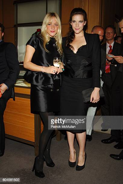 Chloe Sevigny and Liv Tyler attend CARTIER and INTERVIEW Magazine Celebrate LOVE at Cartier Mansion on June 8 2006 in New York City