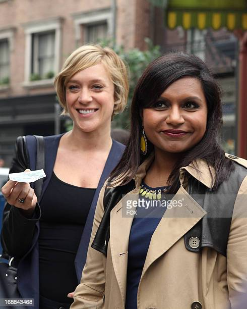 Chloe Sevigny and Mindy Kaling in the 'Triathlon' episode of THE MINDY PROJECT airing Tuesday April 30 2013 on FOX