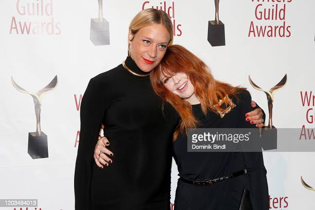 Chloe Sevigny and Natasha Lyonne attend the 72nd Writers Guild Awards at Edison Ballroom on February 01 2020 in New York City