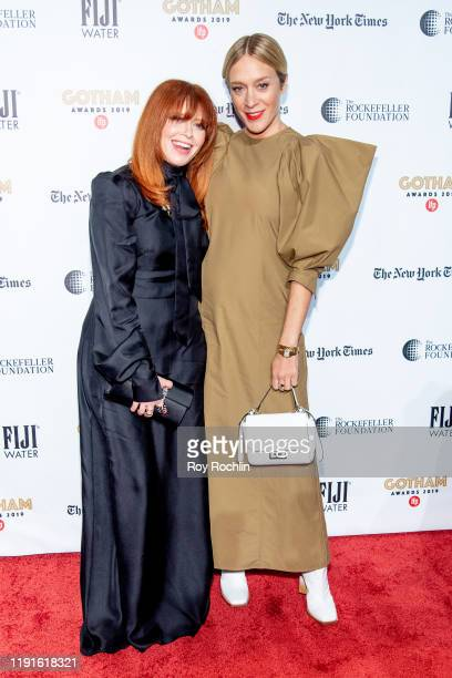 Chloe Sevigny and Natasha Lyonne attends the 2019 IFP Gotham Awards at Cipriani Wall Street on December 02 2019 in New York City