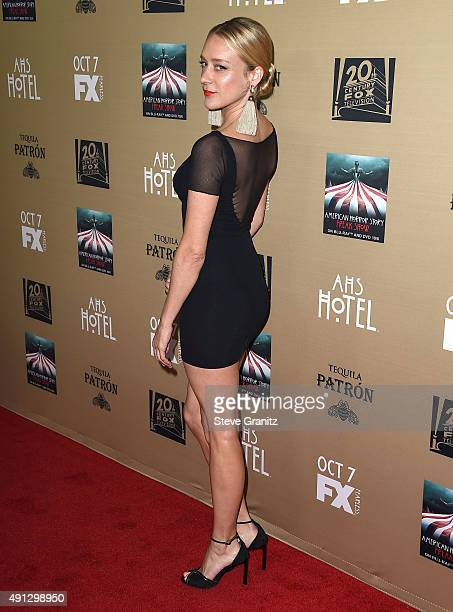 Chloe Sevigny arrives at the Premiere Screening Of FX's 'American Horror Story Hotel' at Regal Cinemas LA Live on October 3 2015 in Los Angeles...