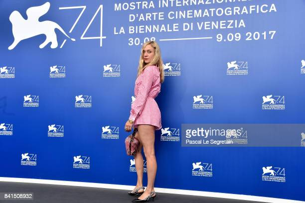 Chloe Sevigny attend the 'Lean On Pete' photocall during the 74th Venice Film Festival on September 1 2017 in Venice Italy