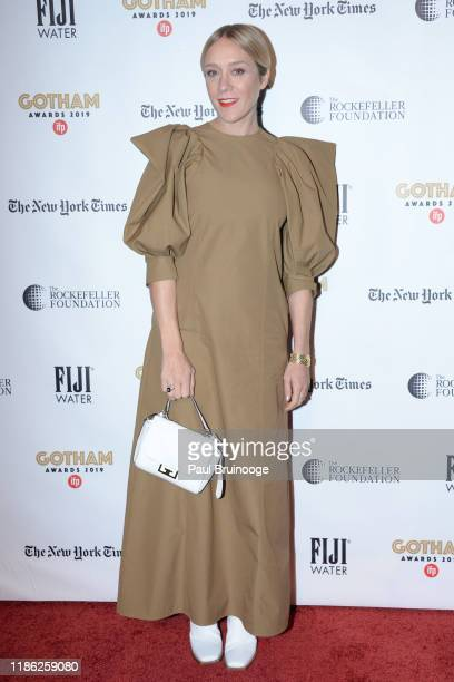 Chloe Sevigny attends 2019 IFP Gotham Awards on December 2 2019 at Cipriani Wall Street in New York City