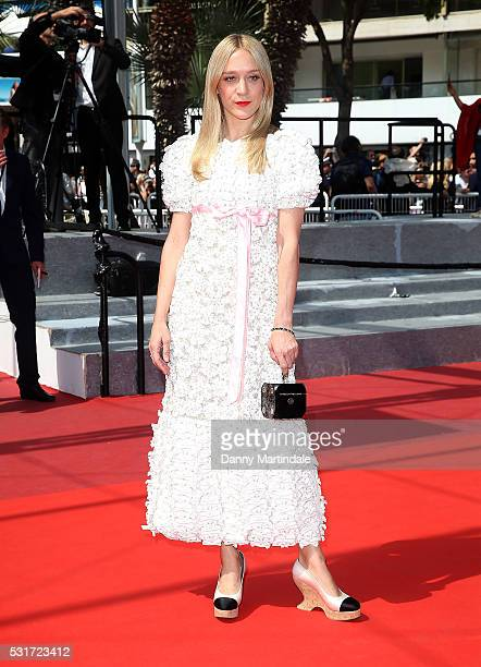 Chloe Sevigny attends a screening of 'Paterson' at the annual 69th Cannes Film Festival at Palais des Festivals on May 16 2016 in Cannes France