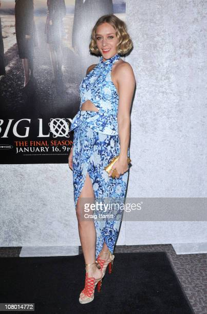 Chloe Sevigny attends HBO's Big Love Season 5 party at the Directors Guild Of America on January 12 2011 in Los Angeles California