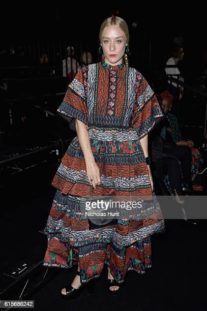 Chloe Sevigny attends KENZO x HM Launch Event Directed By JeanPaul Goude' at Pier 36 on October 19 2016 in New York City