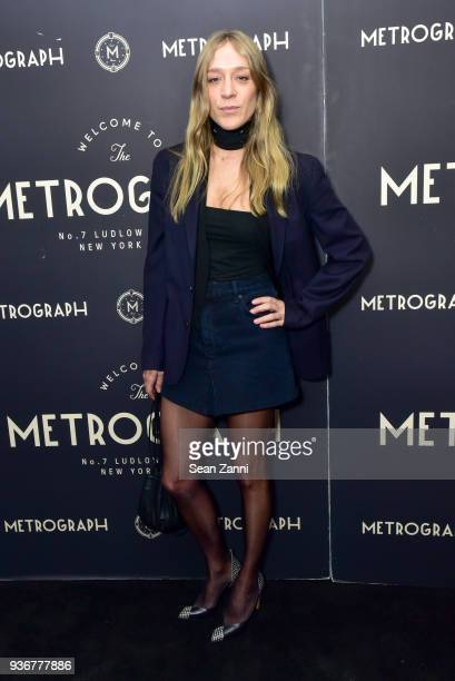 Chloe Sevigny attends Metrograph 2nd Anniversary Party at Metrograph on March 22 2018 in New York City