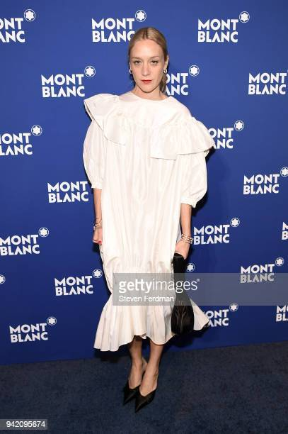 Chloe Sevigny attends Montblanc Celebrates 'Le Petit Prince' at the One World Trade Center Observatory on April 4 2018 in New York City