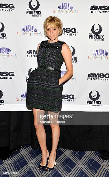 Chloe Sevigny attends the 2012 Garden of Dreams talent show at Radio City Music Hall on April 5 2012 in New York City