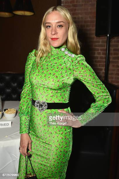 Chloe Sevigny attends the 2017 Tribeca Film Festival After Party For The Dinner Sponsored By Nespresso at White Street on April 24 2017 in New York...