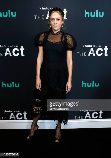Chloe Sevigny attends The Act New York Premiere at The Whitby Theater on March 14 2019 in New York City
