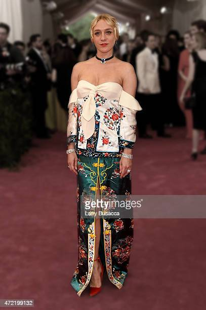 Chloe Sevigny attends the China Through The Looking Glass Costume Institute Benefit Gala at the Metropolitan Museum of Art on May 4 2015 in New York...