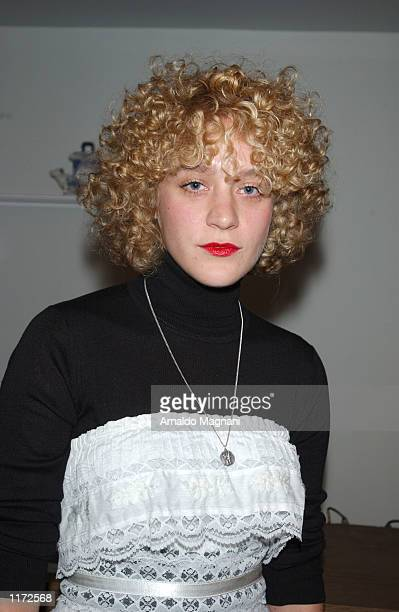 Chloe Sevigny attends the Diesel Denim Gallery exhibition of Diesel's newest denim products October 22 2001 in New York City