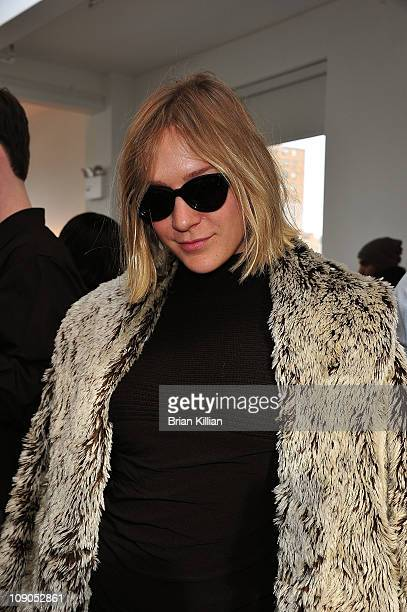Chloe Sevigny attends the Imitation Fall 2011 fashion show during Mercedes-Benz Fashion Week at Milk Studios on February 13, 2011 in New York City.