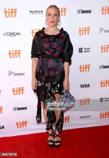 Chloe Sevigny attends the 'Lean On Pete' premiere during the 2017 Toronto International Film Festival at The Elgin on September 11 2017 in Toronto...