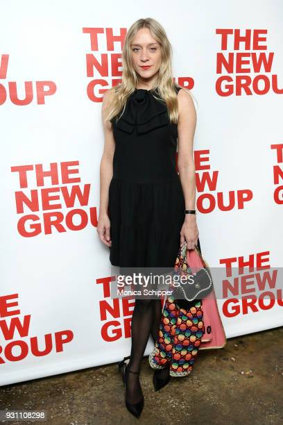 Chloe Sevigny attends The New Group 2018 Gala at Tribeca Rooftop on March 12 2018 in New York City