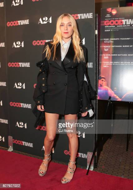 Chloe Sevigny attends the New York premiere of 'Good Time' at SVA Theater on August 8 2017 in New York City