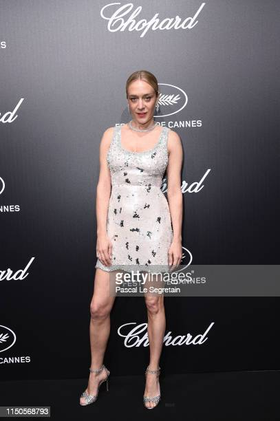 Chloe Sevigny attends the Official Trophee Chopard Dinner Photocall as part of the 72nd Cannes International Film Festival on May 20 2019 in Cannes...