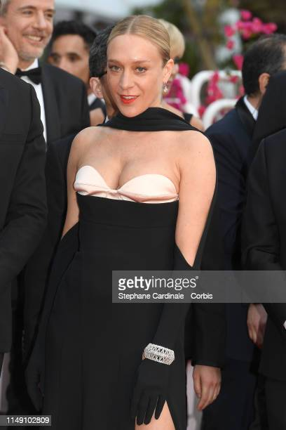 """Chloe Sevigny attends the opening ceremony and screening of """"The Dead Don't Die"""" during the 72nd annual Cannes Film Festival on May 14, 2019 in..."""