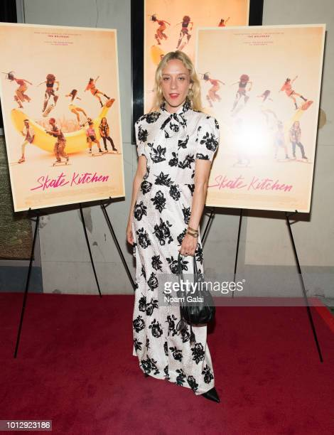 Chloe Sevigny attends the 'Skate Kitchen' New York premiere at IFC Center on August 7 2018 in New York City