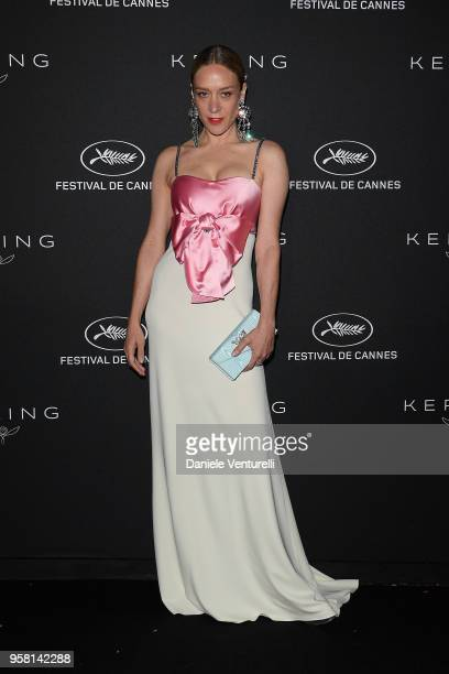 Chloe Sevigny attends the Women in Motion Awards Dinner presented by Kering and the 71th Cannes Film Festival at Place de la Castre on May 13 2018 in...