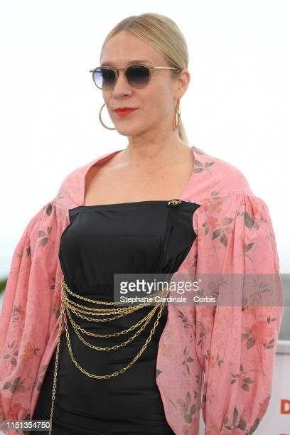 Chloe Sevigny attends the photocall for Les Realisateurs Des Courts Metrages En Competition during the 72nd annual Cannes Film Festival on May 24...