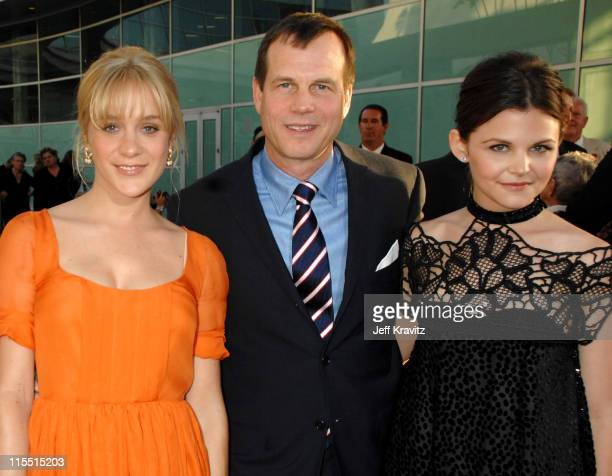 Chloe Sevigny Bill Paxton and Ginnifer Goodwin during 'Big Love' Season Two Premiere Red Carpet at Arclight Cinerama Dome in Hollywood California...