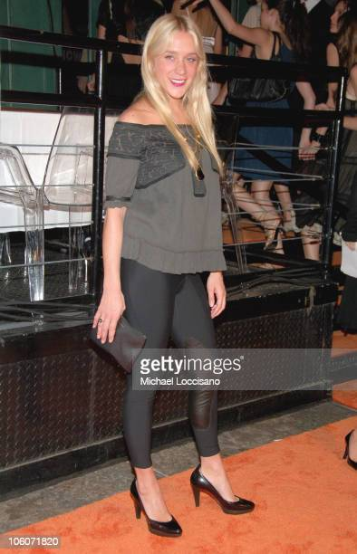 Chloe Sevigny during Launch of HBO Mobile May 31 2005 at Mr Chow Tribeca in New York City New York United States