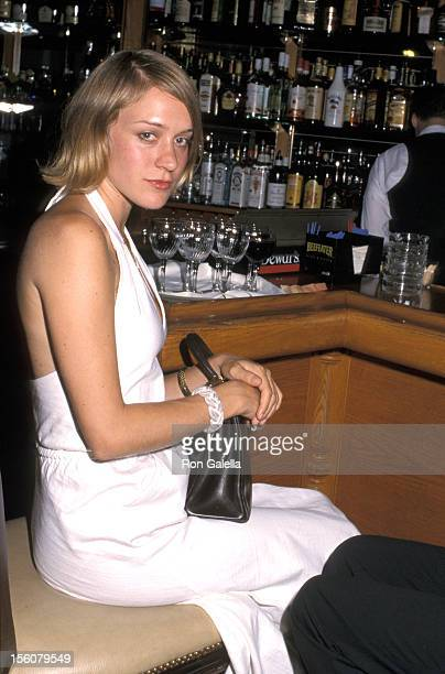Chloe Sevigny during Neil Simon at the Neil Simon Theatre Broadway Benefit Party at Dish of Salt in New York City NY United States