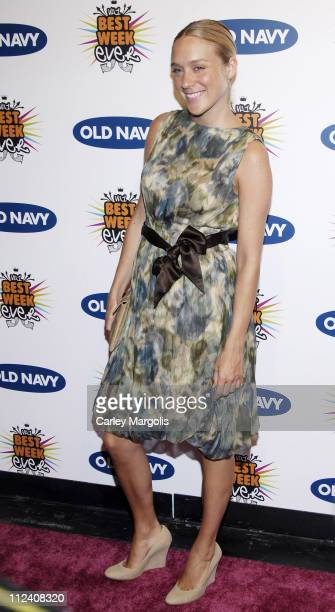 """Chloe Sevigny during Old Navy and VH1 Host the 100th Episode of """"Best Week Ever"""" - Arrivals at Marquee in New York City, New York, United States."""