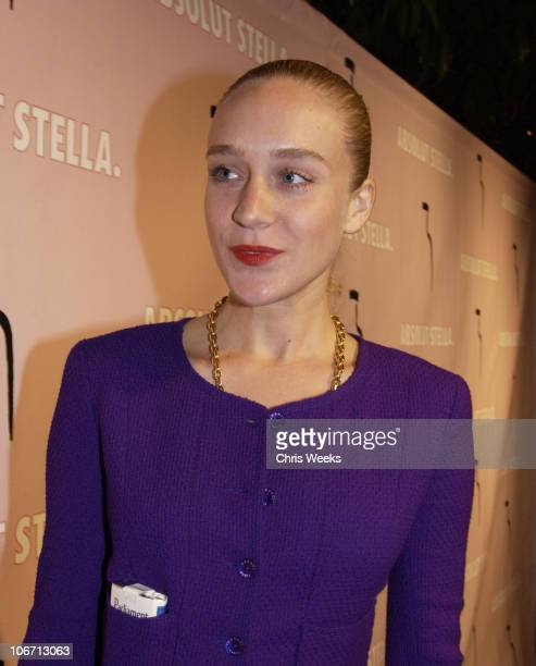 Chloe Sevigny during Party Announcing the Partnership Between Fashion Designer Stella McCartney and Absolut at Chateau Marmont Hotel in West...