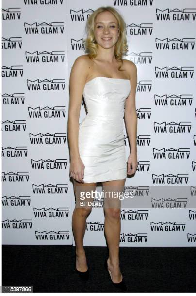Chloe Sevigny during The MAC Aids Fund Viva Glam V After Party at Ace Gallery 275 Hudson in New York City New York United States