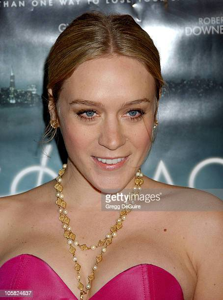Chloe Sevigny during 'Zodiac' Los Angeles Premiere Arrivals at Paramount Studios in Hollywood California United States
